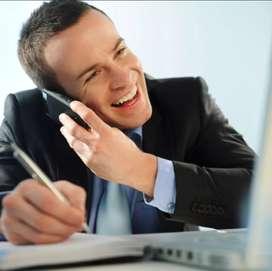 Personal experto en ventas telefonicas