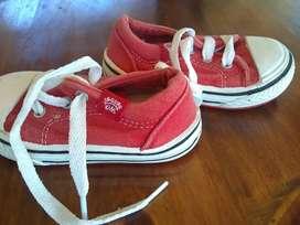 Zapatillas jaguar roja
