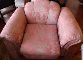 Vendo hermoso Juego de sillones muebles