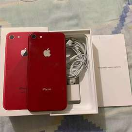 VENDO IPHONE 8 DE 64 GB ROJO