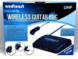 Micrófono Inalambrico para Guitarra o Bajo electrico, señal UHF