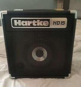 Amplificador para bajo hartke hd15