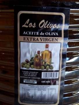 """VENTA DE ACEITE DE OLIVA """" LOS OLIVOS""""30 X 1 LITRO, 2 LITROS Y 5 LITROS"""