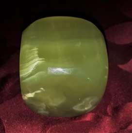 Pisapapel De Marmol Onix De 6 Cm Cubico Tallado