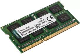 MEMORIA RAM KINGSTON KVR16LS11/8 8GB DDR3L PC3L-12800/1600MHz SO/DIMM PARA LAPTOP O NOTEBOOK