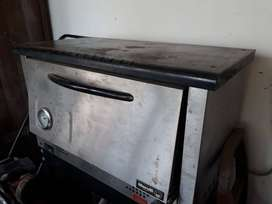 Horno Pizzero Industrial Acero Inoxidable A Gas
