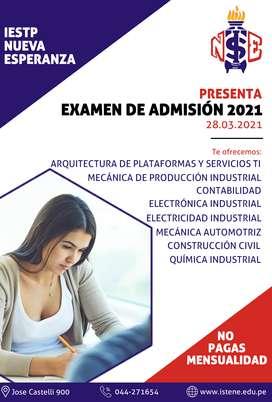 ADMISION 2021 IESTP NUEVA ESPERANZA
