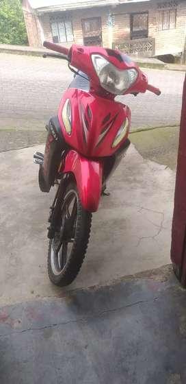 Vendo Motocicleta en prefecto estado papeles al dia cero multas