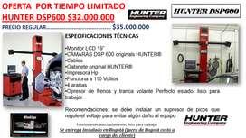 ALINEADOR HUNTER DSP600 CAMARAS