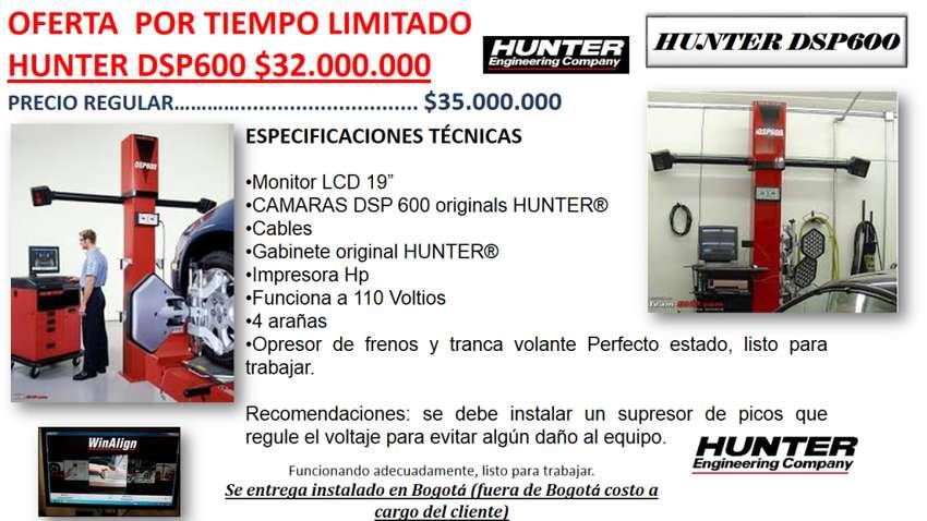 ALINEADOR HUNTER DSP600 CAMARAS 0
