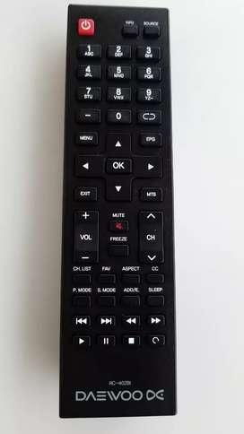 control tv daewoo
