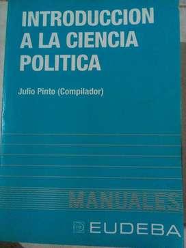 Libro Introducción a La Ciencia Política