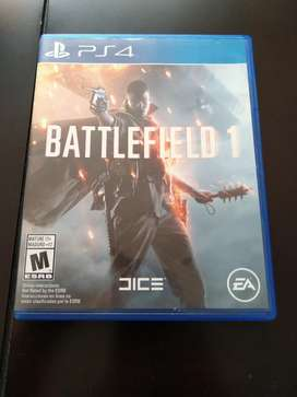 Vendo Battlefield 1 ps4