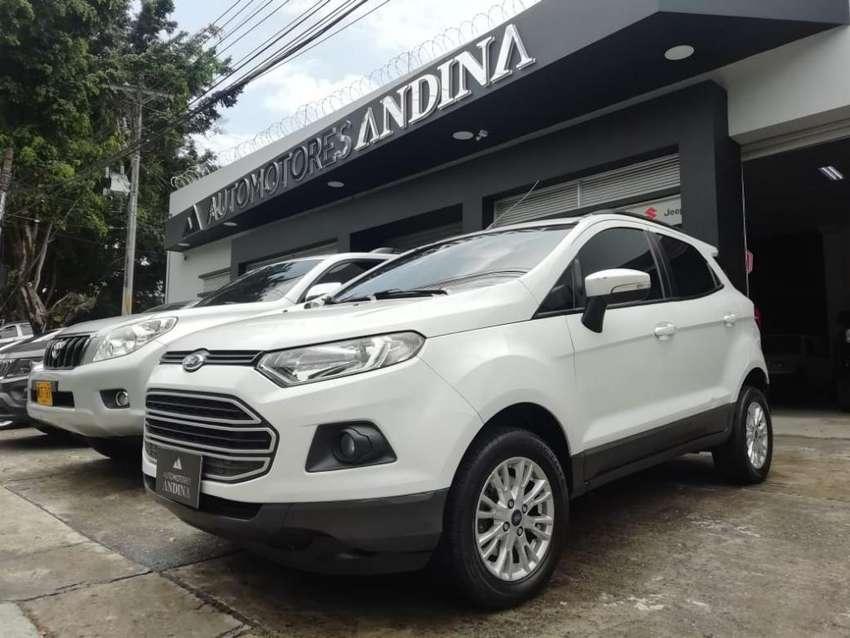Ford Ecosport Lt Automática Secuencial 2015 2.0 FWD 033 0