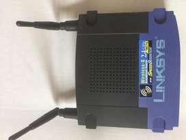 Router Wifi Linksys Wrt 54 G 2.4 Ghz 54 Mbps Wireless