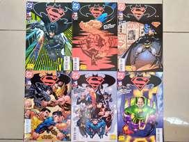 Comics Superman y Batman Enemigos Públicos