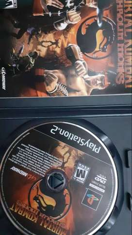 Mortal Kombat PS2 Original