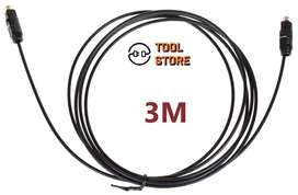 Cable Para Audio Digital Óptico Toslink 3 Metros