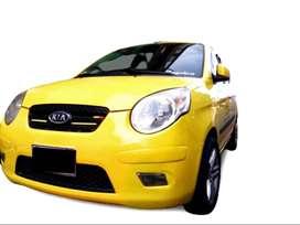 Taxi Picanto rines de lujo