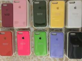FORROS PARA IPHONE SILICONE CASH