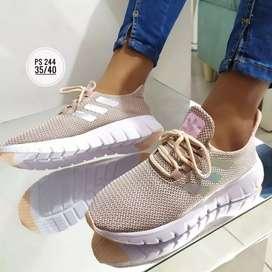 Zapato Tennis Deportivo Adidas Para Dama