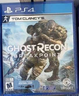 GHOST RECON BREAK POINT PS4
