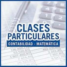 Apoyo escolar en Matemática y Materias contables