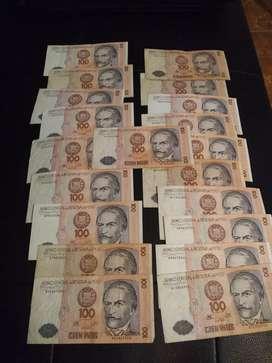 20 Billetes antiguos