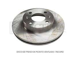 DISCO DE FRENO KIA PICANTO VENTILADO - RECORD