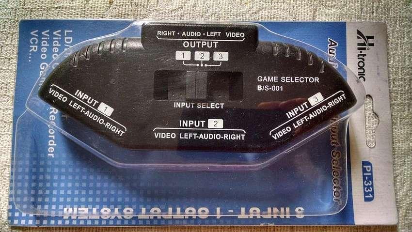 Selector Multiple Audio y Video 0