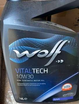 ACEITE WOLF VITALTECH 10W30 Y 5W40