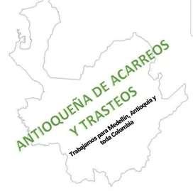 Trasteos, Acarreos, Mudanzas en Medellín