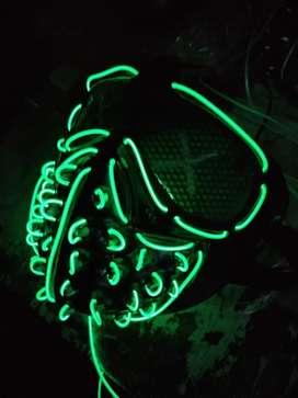 Máscaras luz LED