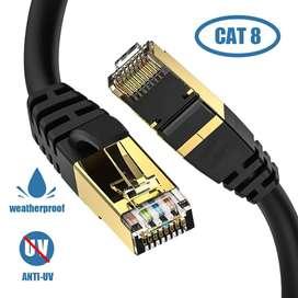 Cable de Red Ethernet Cat 8
