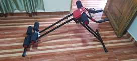 Maquina abdominal 4 ejercicios