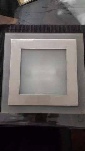 plafon embutir cuadrado para cuarzo 100/150/200w