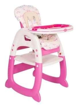 Silla comedor y escritorio para niña