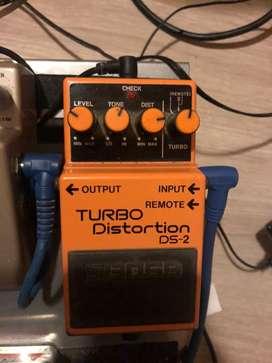 Boss ds2 turbo distorcion