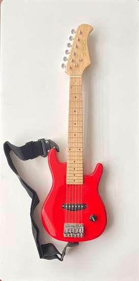 Vendo linda guitarra electrica para niño