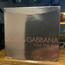 Perfume Rose The One Dolce & Gabbana
