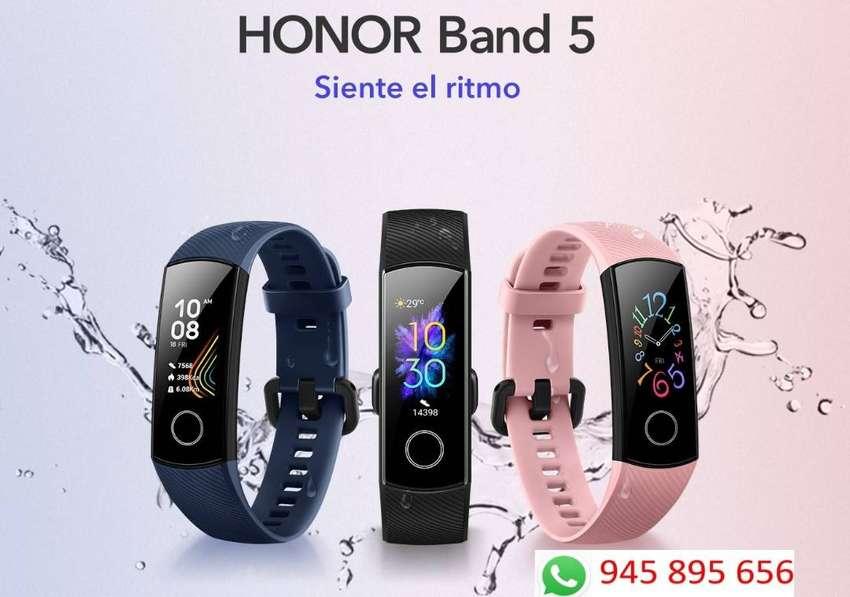 Huawei Honor Band 5 Versión Global + 1 correa 0