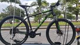 Bicicleta Gw Hawk 29 Talla M 9v Hidraulico