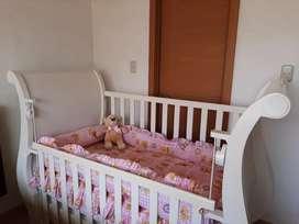 Cuna bebé + colchón