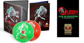 Queen Live in Houston 40th Anniversary Edition 2DVD
