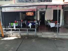 Se vende restaurante con exelente ubicación