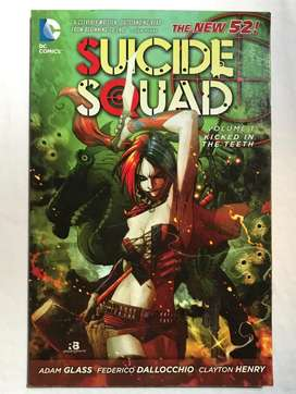 Suicide Squad New 52 Kicked In The Teeth