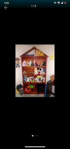 Mueble biblioteca , organizador de juguetes