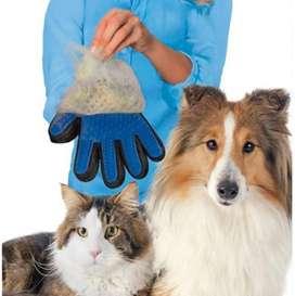Guante Para Mascotas Removedor De Pelo En Silicona