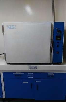 Horno de precision digital para Laboratorio con flujo constante de aire