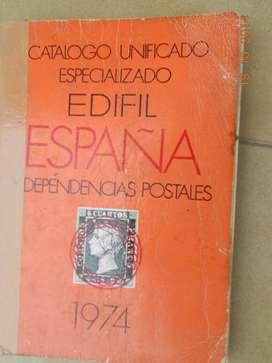 (CASEROS) Catalogo de sellos España- Edifil